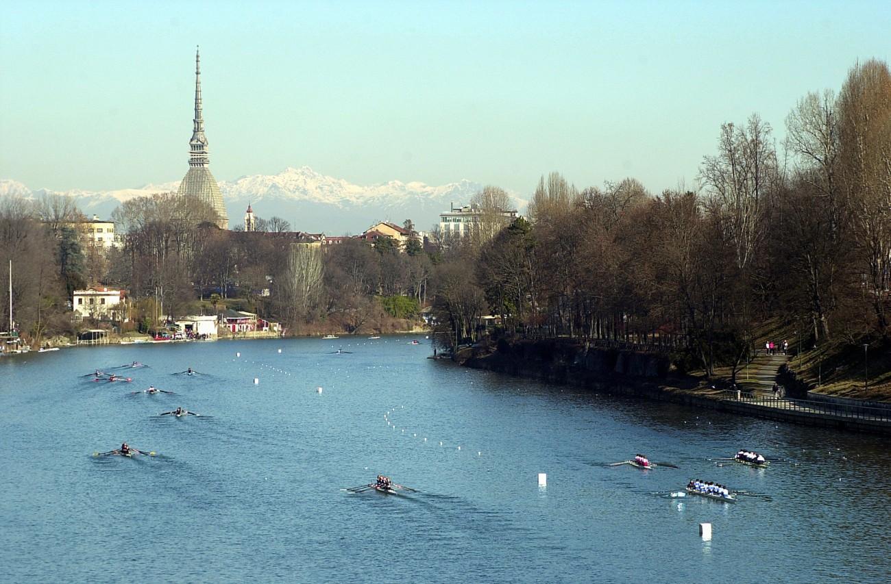 Il Po a Torino