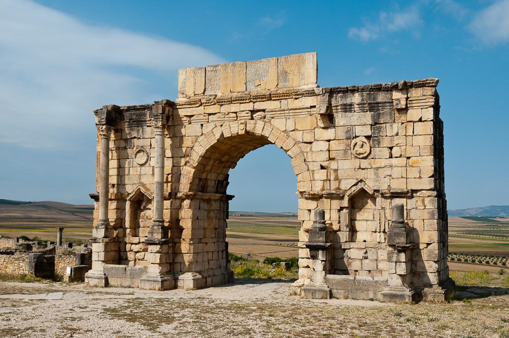 Volubilis Sito Archeologico Marocco
